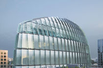 Metal fastening system / for glass curtain walls / for facade cladding / for glass facades