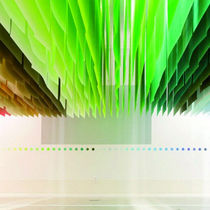 Paper textile membrane / polyester / for partition walls / for false ceilings