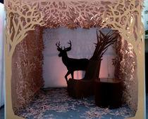 Paper textile membrane / for partition walls / for false ceilings / fire-retardant