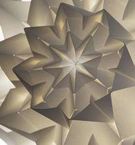 Paper textile membrane / polyester / for false ceilings / fire-retardant