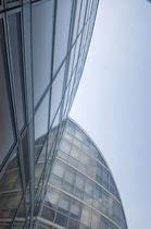 Panel curtain wall / aluminum and glass