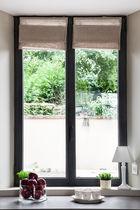 Casement window / tilt-and-turn / top-hung / aluminum