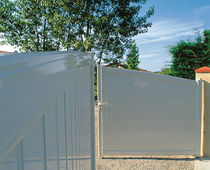 Swing gates / sliding / aluminum / panel