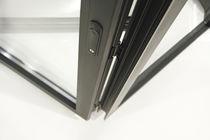 Interior door / folding / aluminum / thermal break