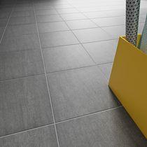 Wall-mounted tile / floor / porcelain stoneware / plain
