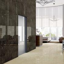Wall tile / porcelain stoneware / plain / polished