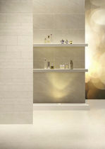 Wall tile / porcelain stoneware / matte / stone look