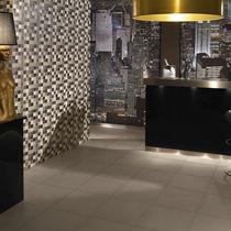 Wall-mounted tile / porcelain stoneware / plain / matte