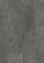 Vinyl flooring / residential / tile / matte