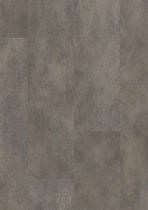 Vinyl flooring / residential / tile / smooth