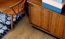 HDF laminate flooring / click-fit laminate flooring / wood look / for domestic use