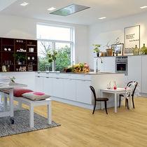 Vinyl flooring / residential / strip / smooth
