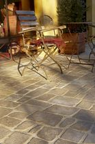 Natural stone paver / anti-slip / made from recycled materials