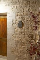 Natural stone wall cladding panel / exterior