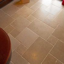 Floor tile / natural stone / polished / rustic