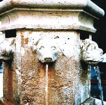 Public fountain / stone