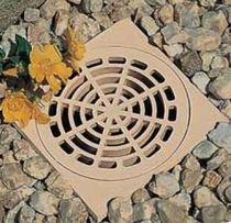 PVC floor drain / round / square