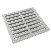 Steel ventilation grille / square