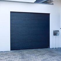 Sectional garage doors / galvanized steel / automatic