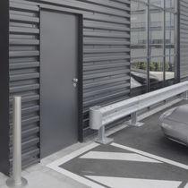 Entry door / swing / galvanized steel / fire-rated
