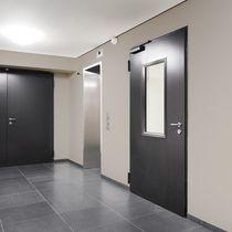 Indoor door / swing / steel / burglar-proof