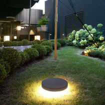 Surface-mounted light fixture / LED / round / outdoor