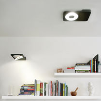 Ceiling-mounted spotlight / indoor / LED / rectangular