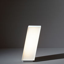 Garden bollard light / contemporary / polycarbonate / LED