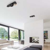 Ceiling-mounted spotlight / wall-mounted / indoor / LED