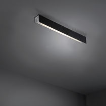 Surface-mounted light fixture / fluorescent / linear / U-shaped