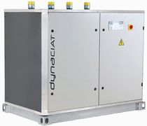 Water-cooled chiller / floor-mounted / compact