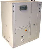 Air-cooled chiller / floor-mounted / compact