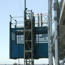 Construction site lifting platform / outdoor