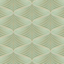 3D ceramic wall tile: floral pattern JARDIN : PALM ARTISTIC TILE