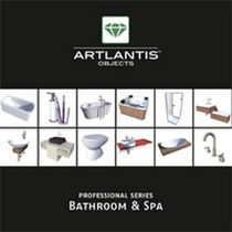 3D object library: furniture (for Artlantis) BATHROOM & SPA Artlantis