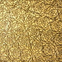3D porcelain stoneware wall tile: floral pattern CESELLO: ROSE ORO Lifetile