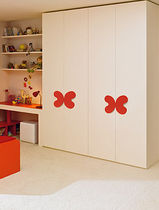 4 door kids wardrobe (girls) MISTRAL Homes
