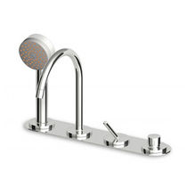 4 hole bath-tub double handle mixer tap ISY - ZP1179 ZUCCHETTI RUBINETTERIA