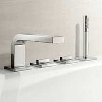 4 hole bath-tub double handle mixer tap EDITION 11 KEUCO