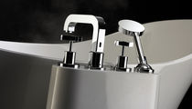 4 hole bath-tub double handle mixer tap LIDO GRANDE  Victoria + Albert