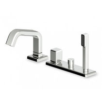 4 hole bath-tub single handle mixer tap FARAWAY - ZFA500  ZUCCHETTI RUBINETTERIA