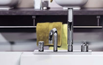 4 hole bath-tub single handle mixer tap BRI1438 Neve rubinetterie