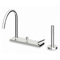 4 hole bath-tub single handle mixer tap PAN - ZP8467 ZUCCHETTI RUBINETTERIA