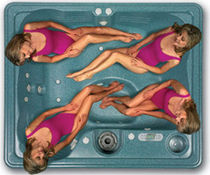 4 seater portable hot-tub AVALON Thermo Spas