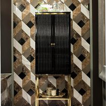 Bathroom column cabinet / Art Deco