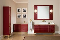 Free-standing washbasin cabinet / wooden / classic / kit
