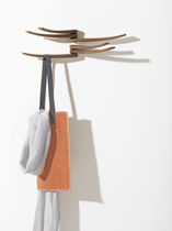Wall-mounted coat rack / original design / wooden / by Studio Lievore Altherr Molina