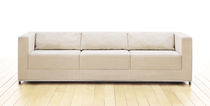Corner sofa / contemporary / fabric / 3-seater