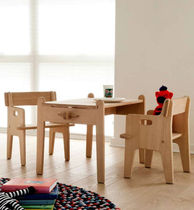 Contemporary table / wooden / child's unisex / by Hans J. Wegner