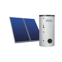 Thermal solar kit / forced circulation